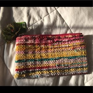Handbags - Colorful clutch a noonday lookalike